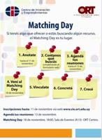 "ORT: Coloquio ""Matching Day"""