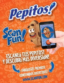Pepitos! Scan Fun: el primer código QR comestible