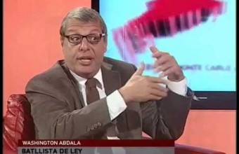 "Washington Abdala: ""Va a ganar la alternancia"""
