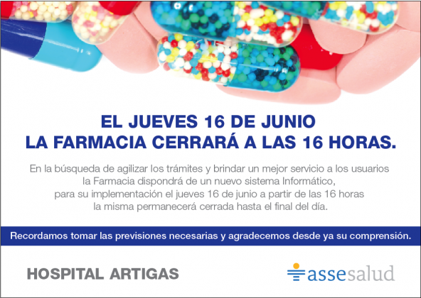 Comunicado del Hospital de Artigas