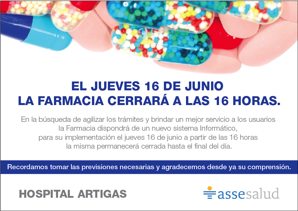 farmacia hospital artigas